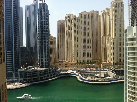 The Address Dubai Marina: view from our room