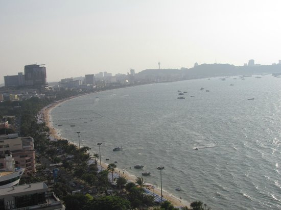 Holiday Inn Pattaya: From the room balcony