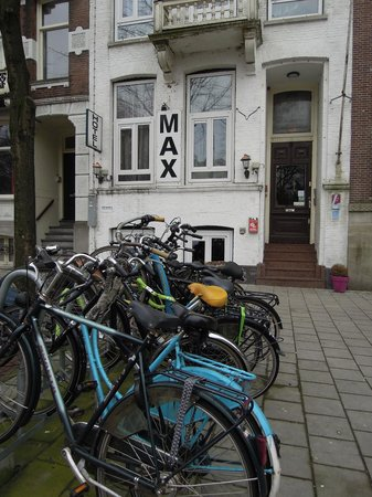 Hotel Max: The Hotel, & the bikes to rent