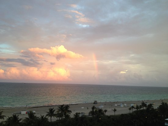 Loews Miami Beach Hotel: The view from our balcony, I miss this view.