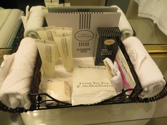The Kensington Park Hotel: Toiletries