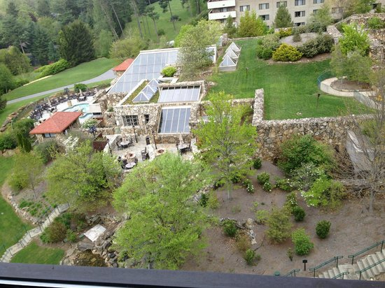 The Grove Park Inn: view from room
