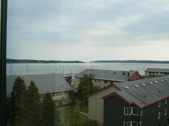 Delta Prince Edward: View of the harbor from my room