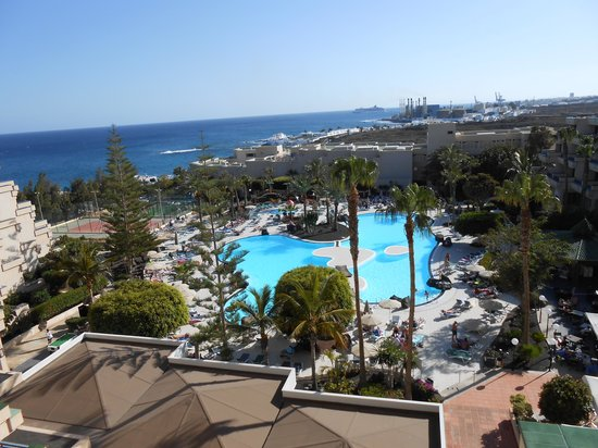Hotel Be Live Lanzarote Resort: view from our room