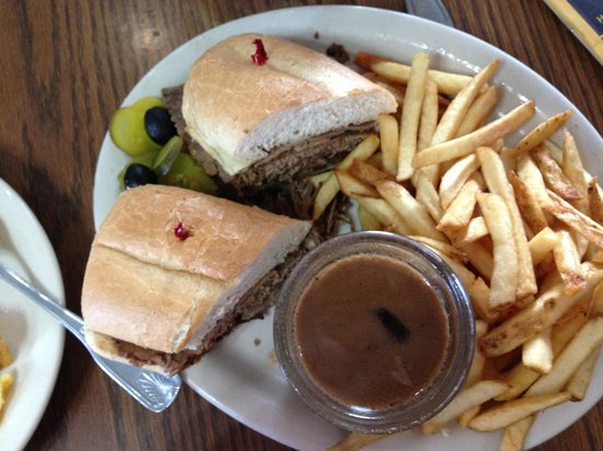 El Cajon, Californië: French dip (dry)