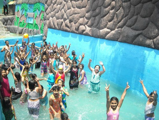 Children pool party picture of mussoorie uttarakhand - Mussoorie hotels with swimming pool ...