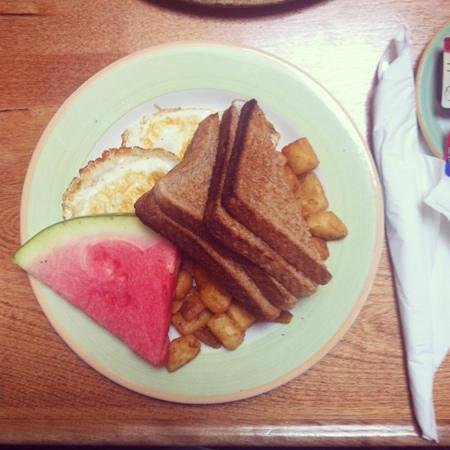 Wolfville, Kanada: The Vegetarian Breakfast