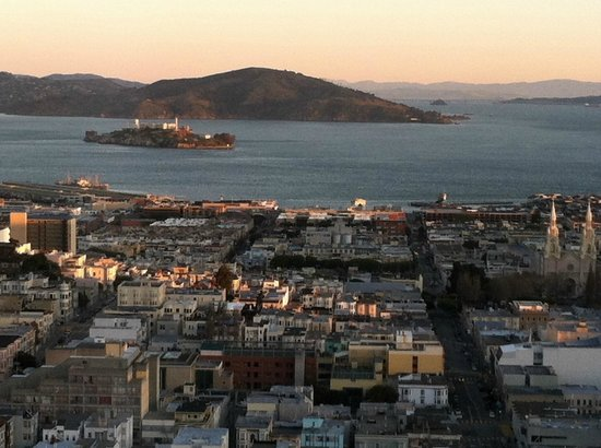 The Fairmont San Francisco: Alcatraz & S.F. Bay
