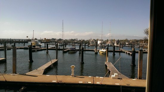 Old Saybrook, CT : Our view at breakfast.