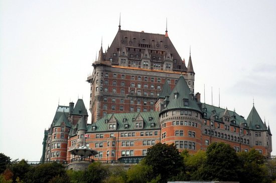 Fairmont Le Chateau Frontenac: vu du chateau