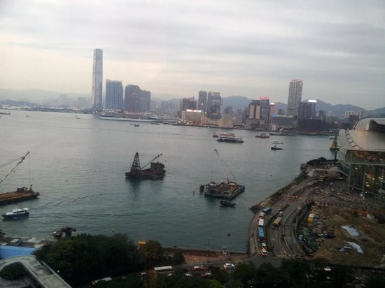 The Harbourview Hong Kong: View from the premier plus harbour room