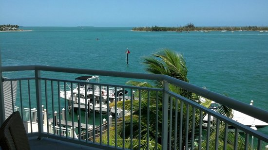 Hyatt Key West Resort and Spa : View from the Hotel Balcony 