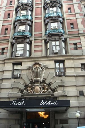 Wolcott Hotel Facade, W 31st Ave, April 22, 2013