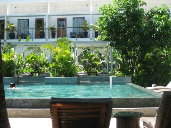 The Plantation: The pool in the afternoon