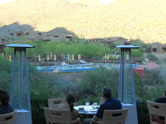 The Ritz-Carlton Dove Mountain: view from hotel lobby