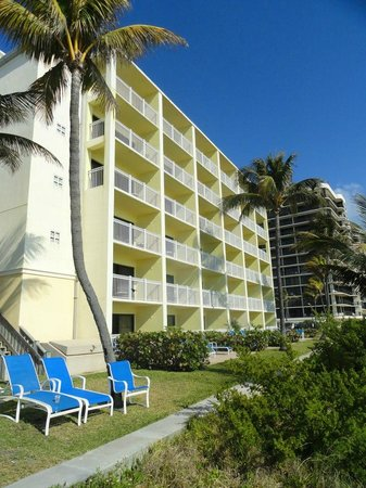 Highland Beach, Флорида: balcony rooms - ocean view