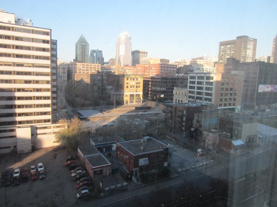 Hyatt Regency Montreal: View from our hotel window