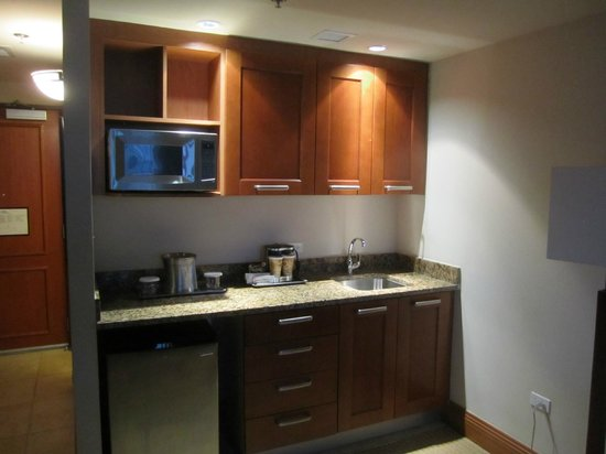 Caribe Hilton San Juan: Kitchen area