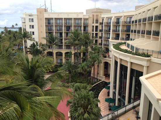 Wyndham Grand Rio Mar Beach Resort & Spa: View from room 6100