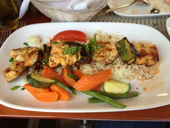 Great doner kabob review of cafe divan washington dc for Divan restaurant menu