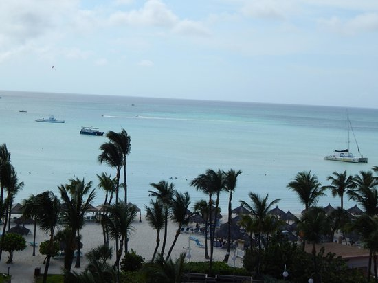 Hyatt Regency Aruba Resort and Casino: Either way....the views are fantastic!