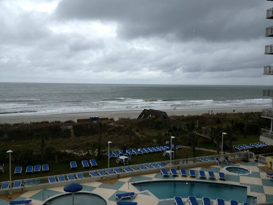 Avista Resort: Balcony view from 3-bedroom Suite