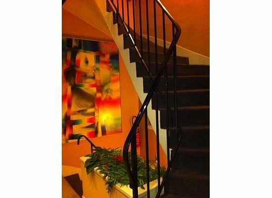 staircase picture of alison madeleine st honore hotel paris tripadvisor. Black Bedroom Furniture Sets. Home Design Ideas