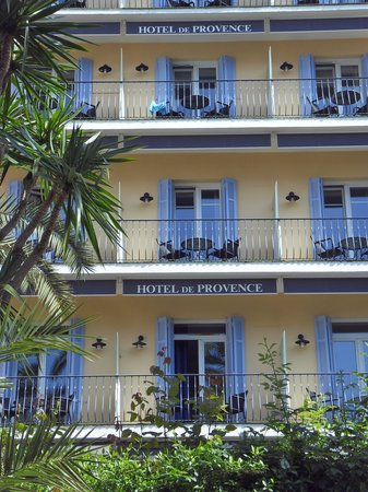 Hotel de Provence: From the outside