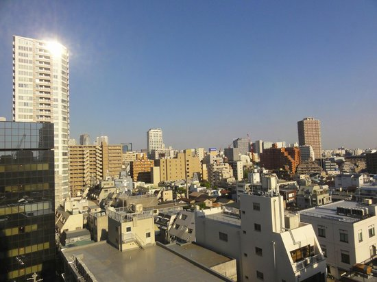 Hotel JAL City Yotsuya Tokyo: 9th floor - View from my room: a very quiet neighborhood