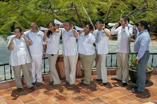 Hacienda del Mar Vacation Club : staff