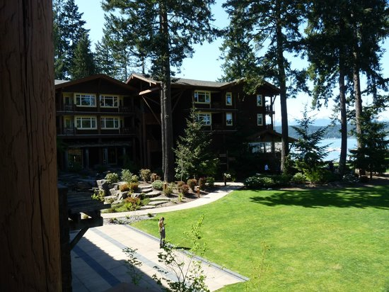 Union, WA: Alderbrook lawn