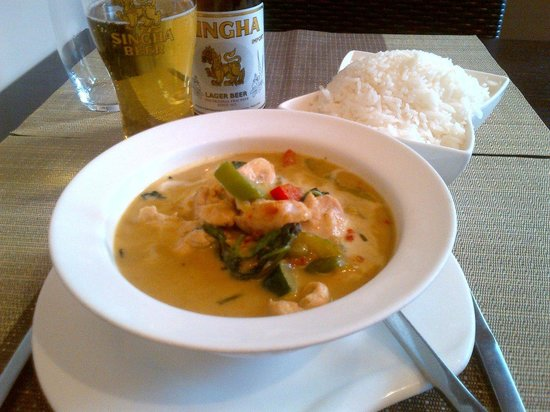 Puteaux, Frankreich: Thai Green Curry