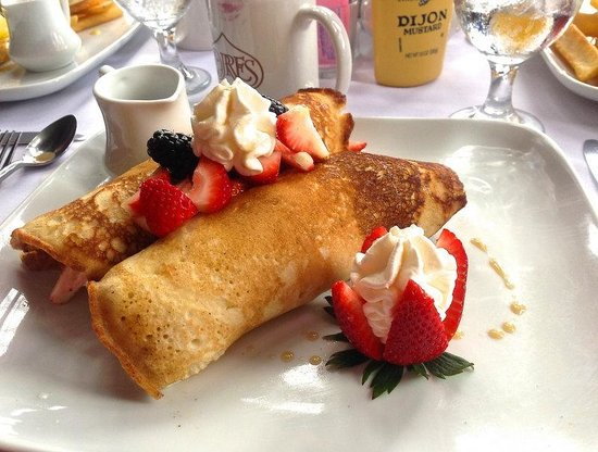 Gualala, Californien: a strawberry brunch -wonderful!