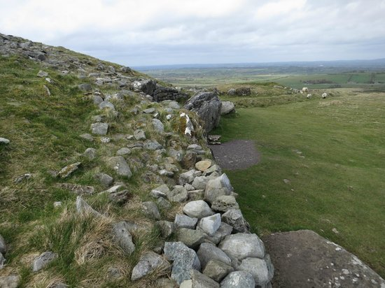 Loughcrew Megalithic Cairns: View from next to tomb