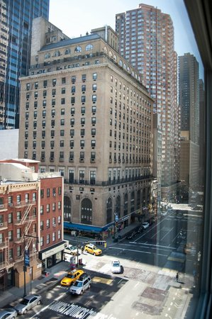 The Hampton Inn Times Square North: View from our room South