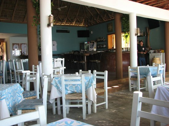 La Cruz de Huanacaxtle, Meksika: The bar