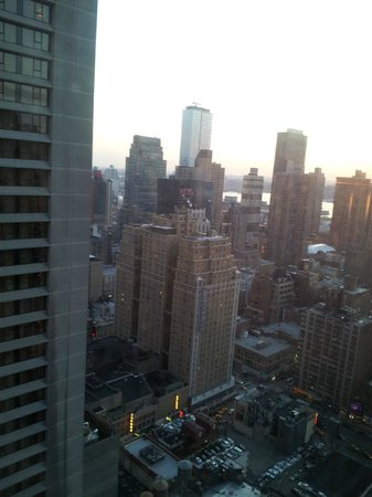 W New York - Times Square : View from the 42nd floor 