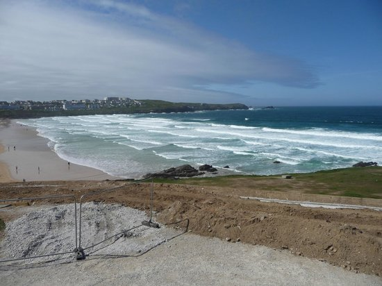 Headland Hotel - Newquay: View from terrace