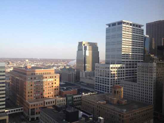 Hilton Minneapolis: View from the 25th floor