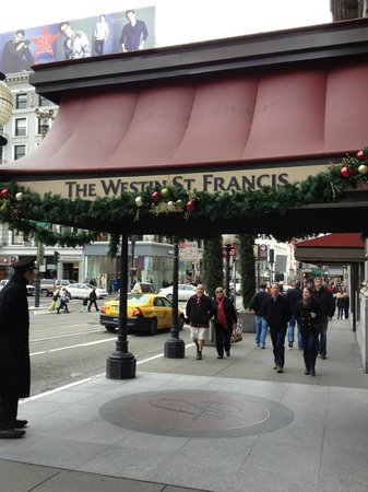 The Westin St. Francis San Francisco on Union Square : Union Square Entrance