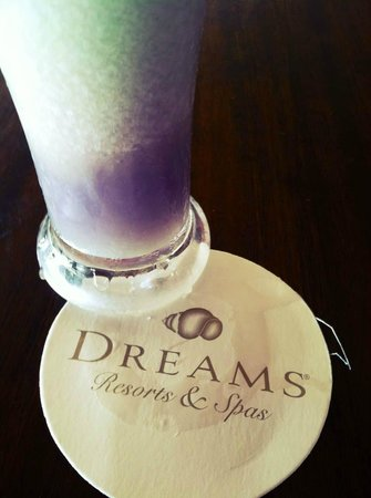 Dreams Punta Cana: &quot;Sammy Sosa&quot; Our favorite drink here!