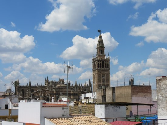 Hotel Murillo : view from roof terrace 