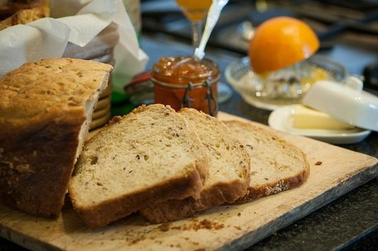 Richmond House Boutique Bed & Breakfast: Delicious home made bread