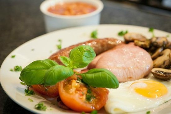 Richmond House Boutique Bed & Breakfast: Meaty Full English