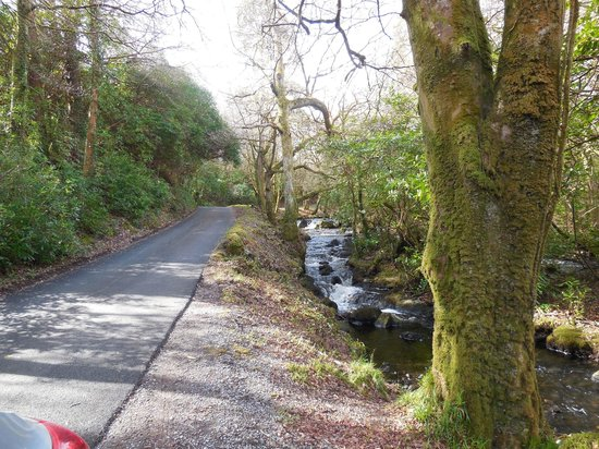 Oughterard, Irland: Stream