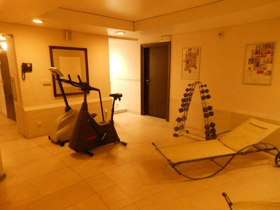 Mamaison Hotel Le Regina Warsaw: Gym equipment