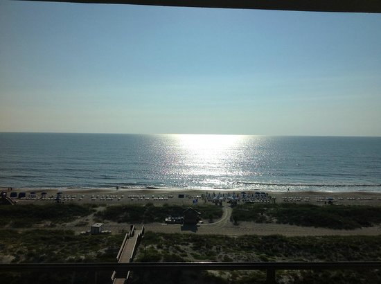 The Ritz-Carlton - Amelia Island: View from an oceanfront suite in the morning