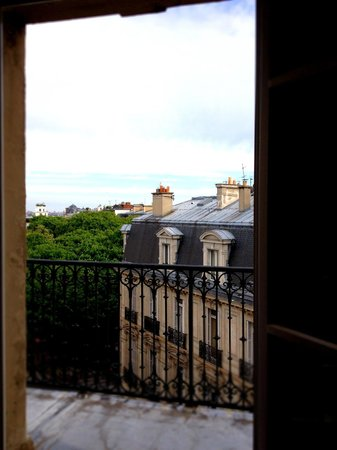 Hotel de Sevigne: View from room 552