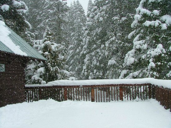 Mill Creek, CA: Winter on the Deck
