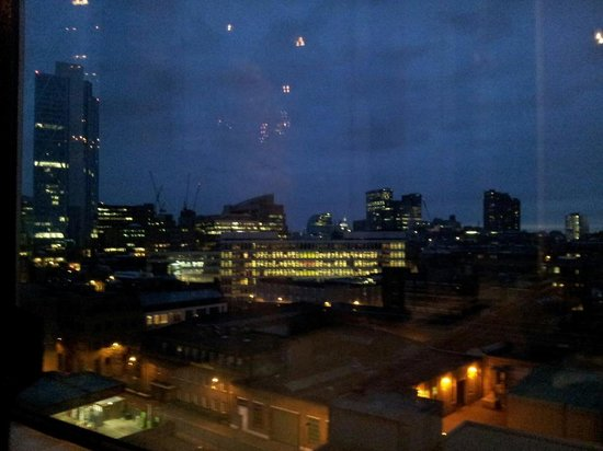 Crowne Plaza London Shoreditch : A view from the hotel restaurant (looking south west)